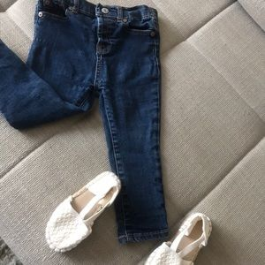 Baby 7 for all mankind jeans 18 mon used